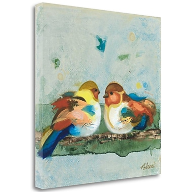 Tangletown Fine Art 'The One Who Sits Beside Me' Print on Wrapped Canvas; 20'' H x 20'' W
