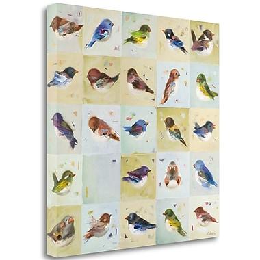 Tangletown Fine Art 'Tardy' Print on Wrapped Canvas; 18'' H x 18'' W