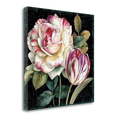 Tangletown Fine Art 'Garden View VIII Black' Print on Canvas; 18'' H x 18'' W