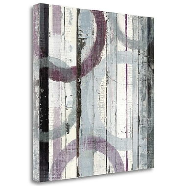 Tangletown Fine Art 'Plum Zephyr I' Print on Wrapped Canvas; 35'' H x 35'' W
