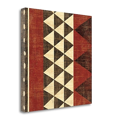Tangletown Fine Art 'Patterns of the Savanna I' Graphic Art Print on Wrapped Canvas; 35'' H x 35'' W