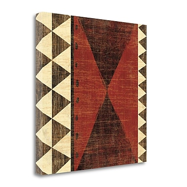 Tangletown Fine Art 'Patterns of the Savanna II' Graphic Art Print on Wrapped Canvas