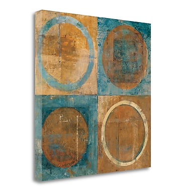 Tangletown Fine Art 'Renew' Print on Wrapped Canvas; 18'' H x 18'' W