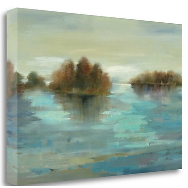 Tangletown Fine Art 'Serenity on the River' Print on Wrapped Canvas; 20'' H x 29'' W