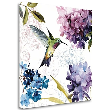 Tangletown Fine Art 'Spring Nectar Square II' Print on Canvas; 25'' H x 25'' W