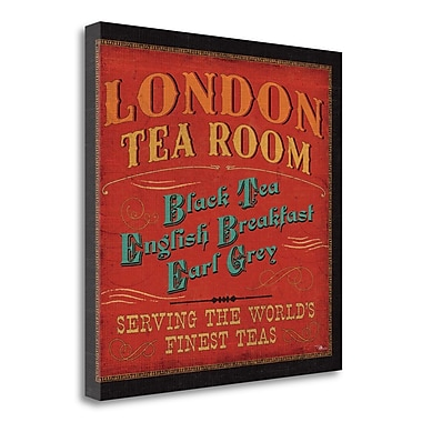 Tangletown Fine Art 'Lunchtime in Color II' Vintage Advertisement on Wrapped Canvas; 24'' H x 24'' W