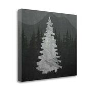 Tangletown Fine Art 'Chalkboard Tree' Graphic Art Print on Wrapped Canvas; 20'' H x 24'' W