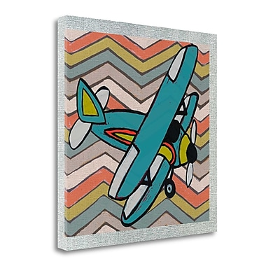 Tangletown Fine Art 'Transportation Airplane I' Graphic Art Print on Canvas; 30'' H x 30'' W