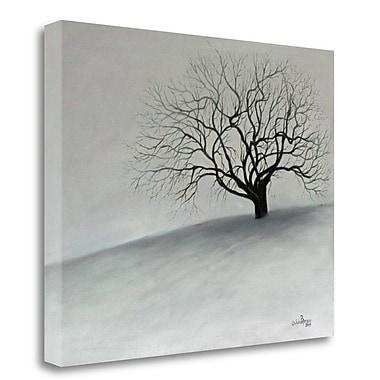 Tangletown Fine Art Winter Tree' Print on Canvas; 18'' H x 22'' W
