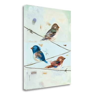 Tangletown Fine Art 'Balancing Act III' Print on Wrapped Canvas; 28'' H x 23'' W