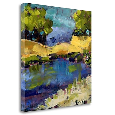 Tangletown Fine Art 'Autumn Waters' Print on Wrapped Canvas; 26'' H x 25'' W