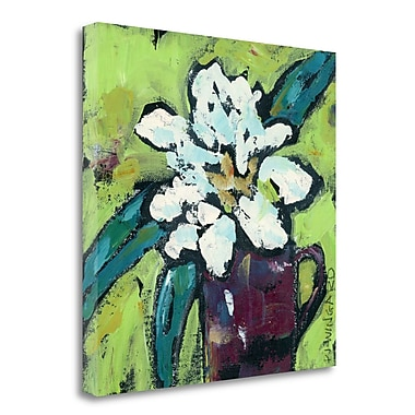 Tangletown Fine Art 'Be Happy' Print on Wrapped Canvas; 30'' H x 30'' W
