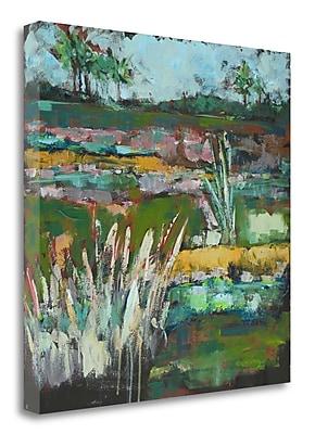 Tangletown Fine Art 'Autumn Carolina Marsh' Print on Wrapped Canvas; 20'' H x 20'' W