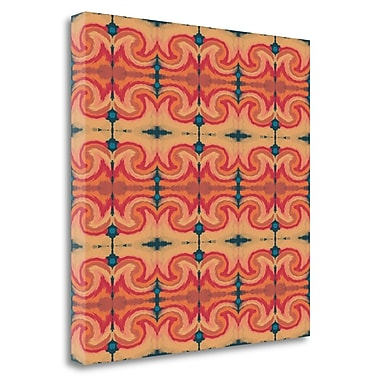 Tangletown Fine Art 'Autumn Pattern Repeat' Print on Wrapped Canvas; 24'' H x 24'' W