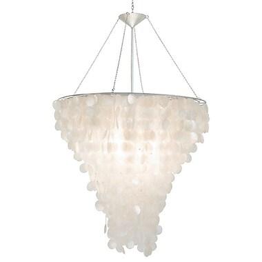 WorldsAway Shell 2-Light Crystal Chandelier