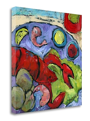 Tangletown Fine Art 'Why Not' Print on Wrapped Canvas; 20'' H x 20'' W