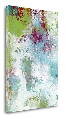 Tangletown Fine Art 'Summer Rain' Graphic Art Print on Canvas; 48'' H x 34'' W
