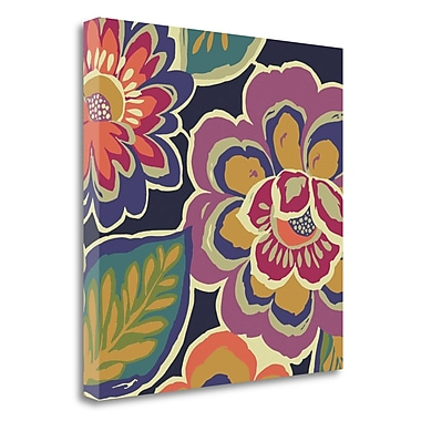 Tangletown Fine Art 'Floral Assortment Square II' Print on Wrapped Canvas; 24'' H x 24'' W