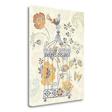 Tangletown Fine Art 'Free Spirit II' Graphic Art Print on Wrapped Canvas; 23'' H x 18'' W