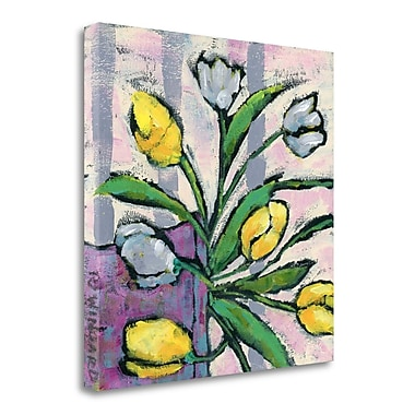 Tangletown Fine Art 'Signs of Spring' Print on Wrapped Canvas; 25'' H x 25'' W