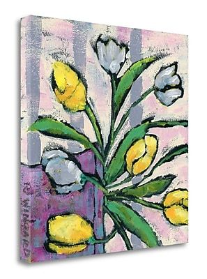 Tangletown Fine Art 'Signs of Spring' Print on Wrapped Canvas; 35'' H x 35'' W