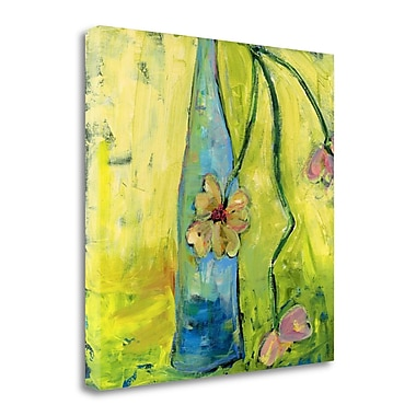 Tangletown Fine Art 'Simple Bottles II' Print on Wrapped Canvas; 20'' H x 20'' W
