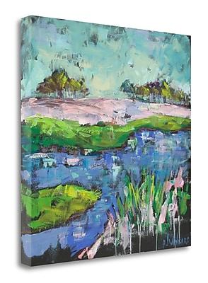 Tangletown Fine Art 'Summer Carolina Marsh' Print on Wrapped Canvas; 20'' H x 20'' W
