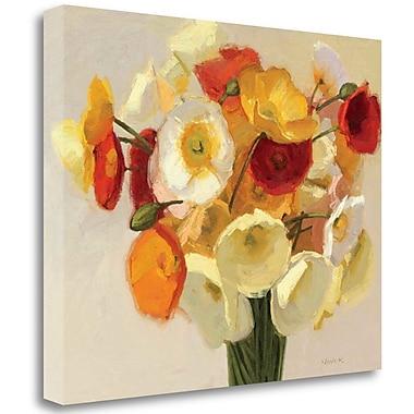 Tangletown Fine Art 'November Poppies' Print on Canvas; 25'' H x 31'' W