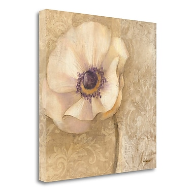 Tangletown Fine Art 'Brocade Poppy Wag' Print on Wrapped Canvas; 20'' H x 20'' W