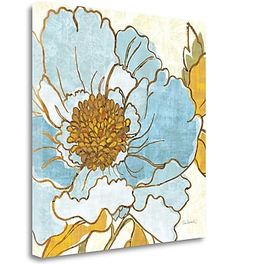 Tangletown Fine Art 'Camille's Peony I' Print on Wrapped Canvas; 20'' H x 20'' W
