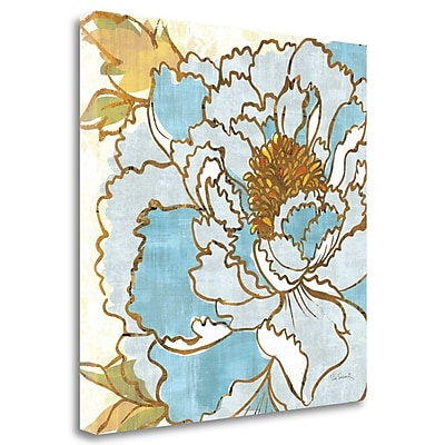 Tangletown Fine Art 'Camille's Peony II' Print on Wrapped Canvas; 24'' H x 24'' W