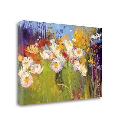 Tangletown Fine Art 'Contemporary Meadow' Print on Wrapped Canvas; 23'' H x 34'' W