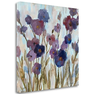 Tangletown Fine Art 'Abstracted Floral' Print on Wrapped Canvas; 25'' H x 25'' W