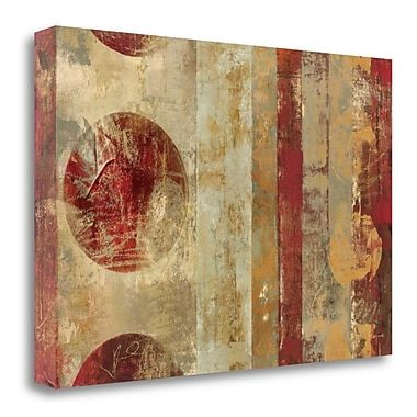Tangletown Fine Art 'Caribbean Sunrise' Print on Wrapped Canvas; 16'' H x 24'' W