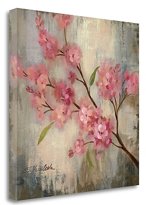 Tangletown Fine Art 'Cherry Blossom II' Print on Wrapped Canvas; 30'' H x 30'' W