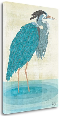 Tangletown Fine Art 'Heron' Print on Canvas; 29'' H x 21'' W