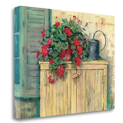 Tangletown Fine Art 'Gardeners Still Life' Print on Canvas; 20'' H x 26'' W