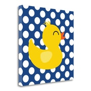 Tangletown Fine Art 'Duck II' Graphic Art Print on Wrapped Canvas; 29'' H x 29'' W