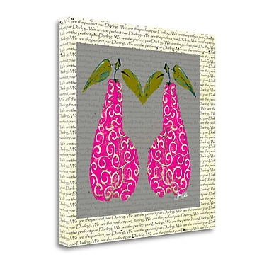 Tangletown Fine Art 'Perfect Pair Double' Graphic Art Print on Canvas; 30'' H x 30'' W