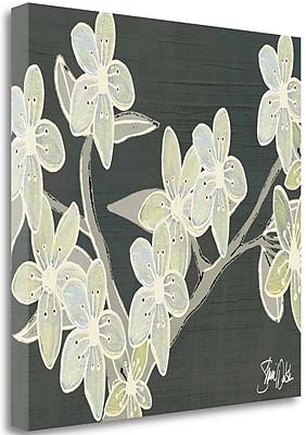 Tangletown Fine Art 'Cherry Blossoms Lavish Luxury' Graphic Art Print on Wrapped Canvas