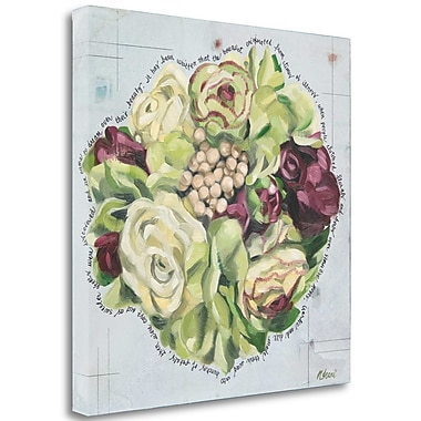 Tangletown Fine Art 'Bouquet I' Print on Wrapped Canvas; 23'' H x 23'' W