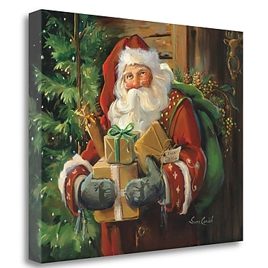 Tangletown Fine Art 'Holiday Cheer' Print on Canvas; 16'' H x 20'' W