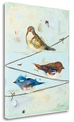 Tangletown Fine Art 'Balancing Act I' Print on Wrapped Canvas; 20'' H x 16'' W