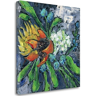 Tangletown Fine Art 'Be Present' Print on Wrapped Canvas; 35'' H x 35'' W
