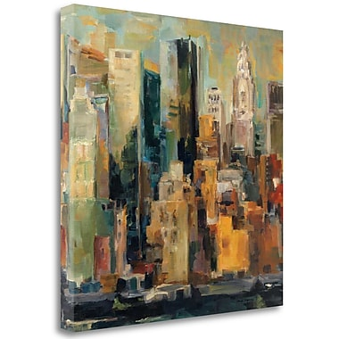 Tangletown Fine Art 'New York New York' Print on Wrapped Canvas; 35'' H x 35'' W