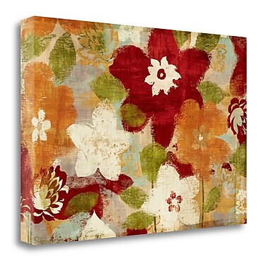 Tangletown Fine Art 'Modern Bloom' Print on Canvas; 16'' H x 24'' W
