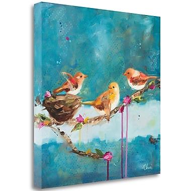 Tangletown Fine Art 'Morning' Print on Canvas; 24'' H x 24'' W