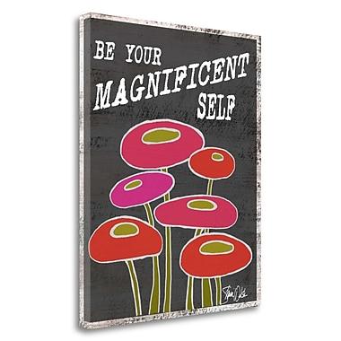 Tangletown Fine Art 'Magnificent Self' Graphic Art Print on Canvas; 26'' H x 21'' W