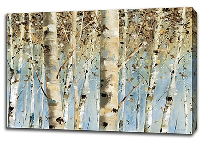 Tangletown Fine Art 'White Forest' Print on Canvas; 23'' H x 34'' W