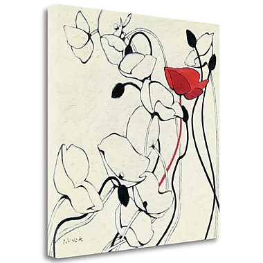 Tangletown Fine Art 'Filament de Vie II' Print on Wrapped Canvas; 24'' H x 24'' W